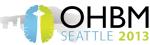 OHBM 2013 logo