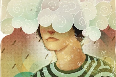 illustration-woman-head-in-clouds-depression-16